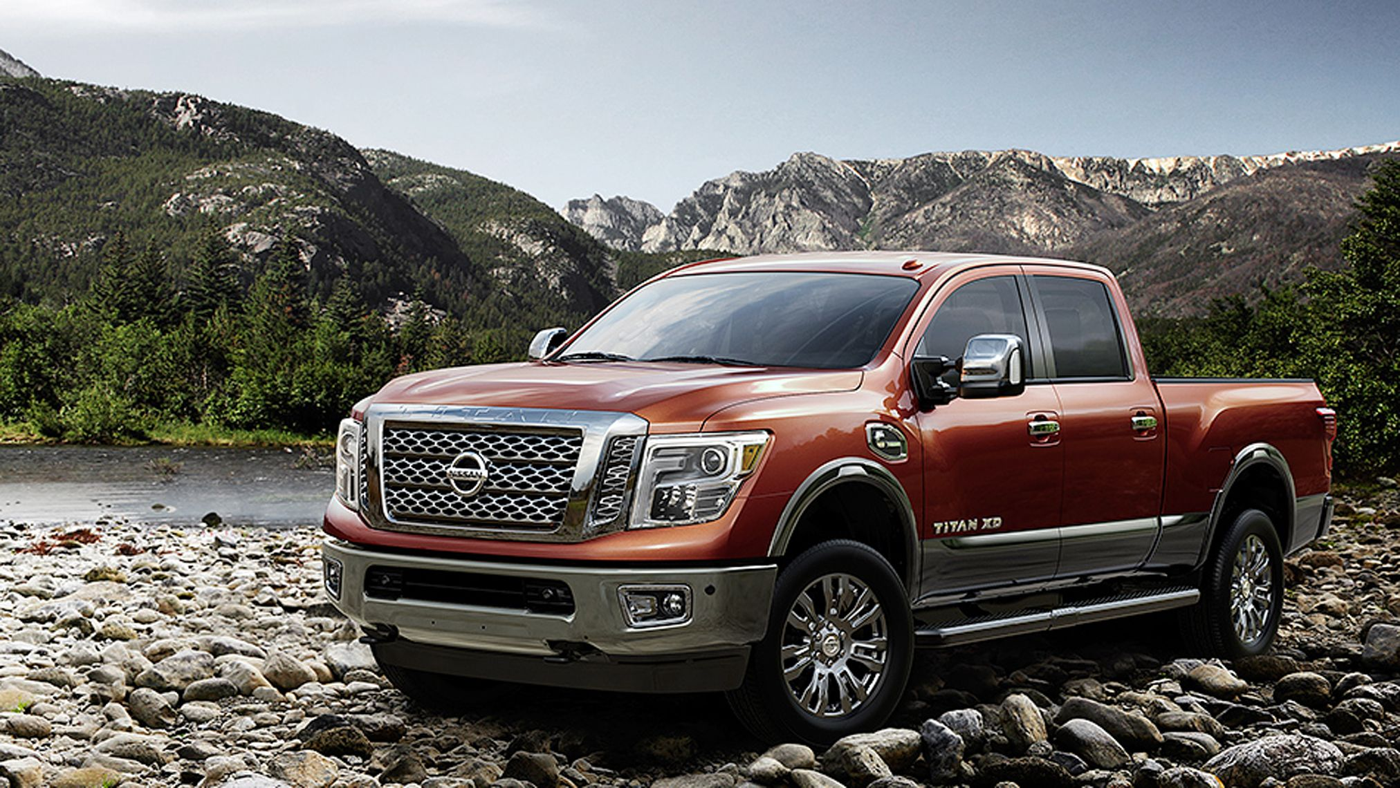 2016-nissan-titan-platinum-reserve-off-roading-mountains-forged-copper