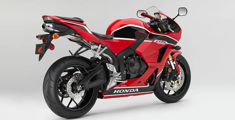 2017 Honda CBR600RR Rear Side View