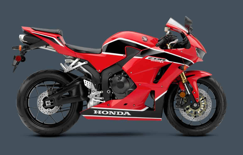 2017 Honda CBR600RR Side View