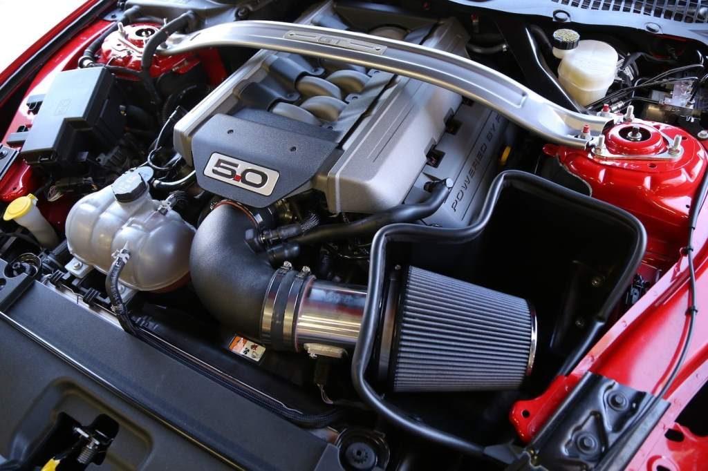Steeda Q750 Streetfighter Mustang engine