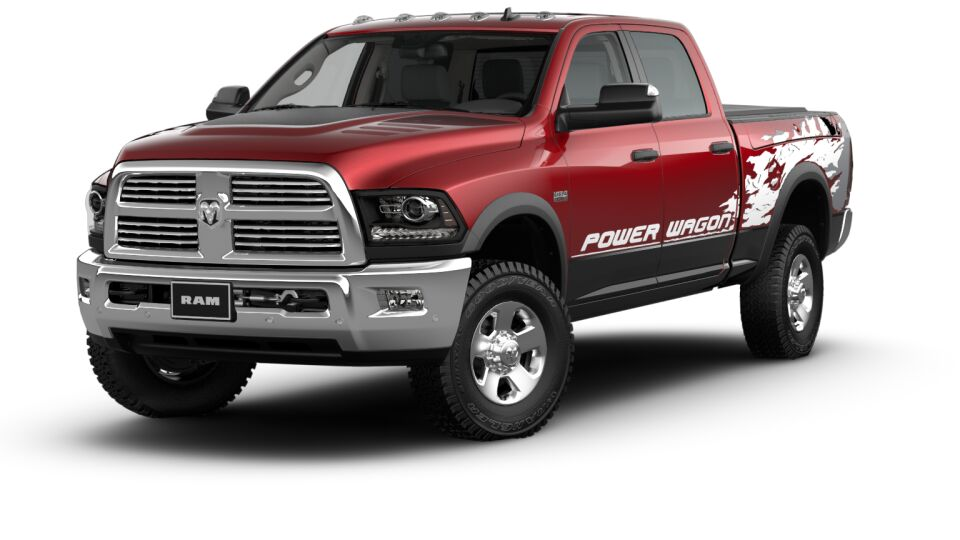 most expensive truck - Ram 2500-pw