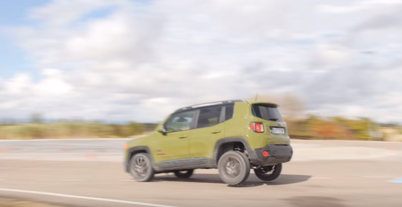 The Jeep Renegade May Have Problems During Hard Braking As Shown In This Video