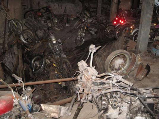 New York Motorcycle Graveyard 2
