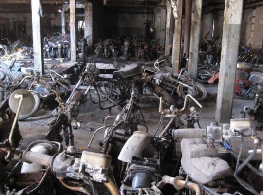 New York Motorcycle Graveyard 1
