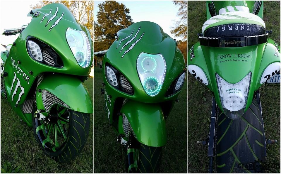 Monster Custom Hayabusa 4