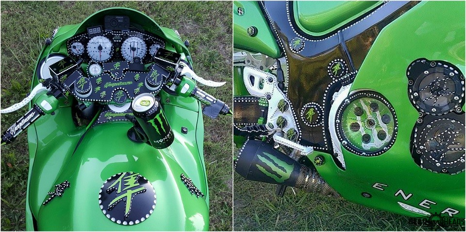 Monster Custom Hayabusa 6