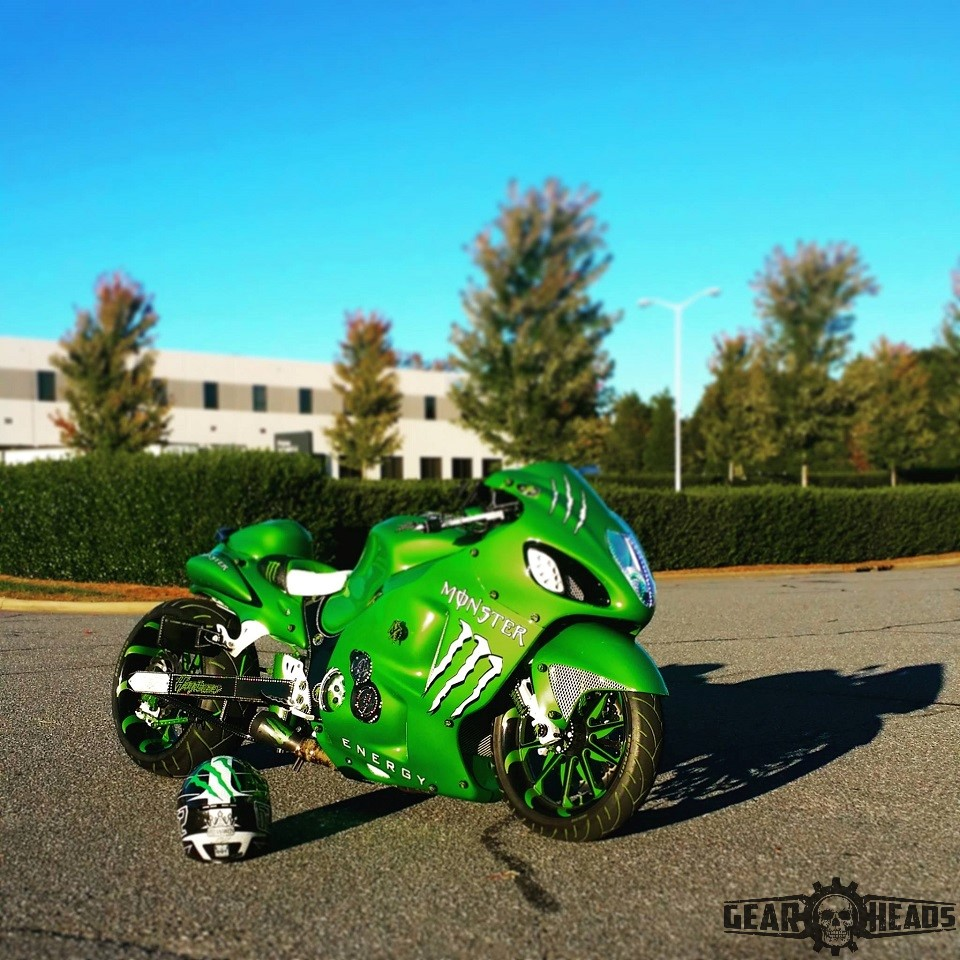 Monster Custom Hayabusa 9