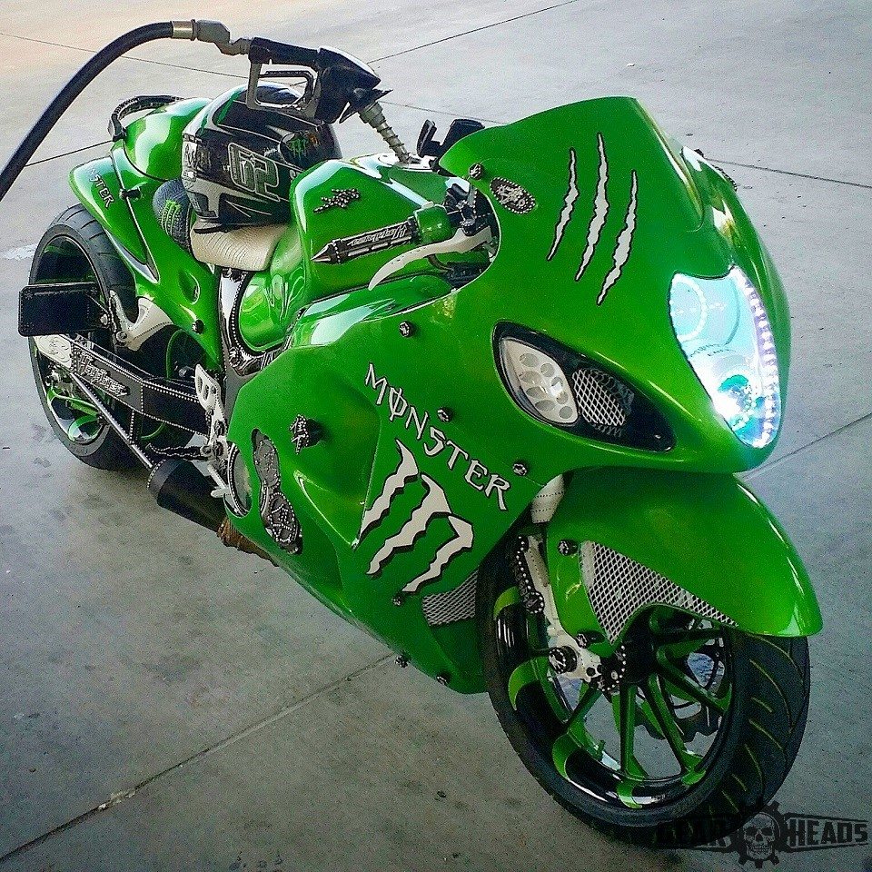 Monster Custom Hayabusa 7