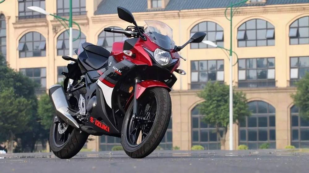 Suzuki GSX-R250 & Suzuki V Strom 250 4