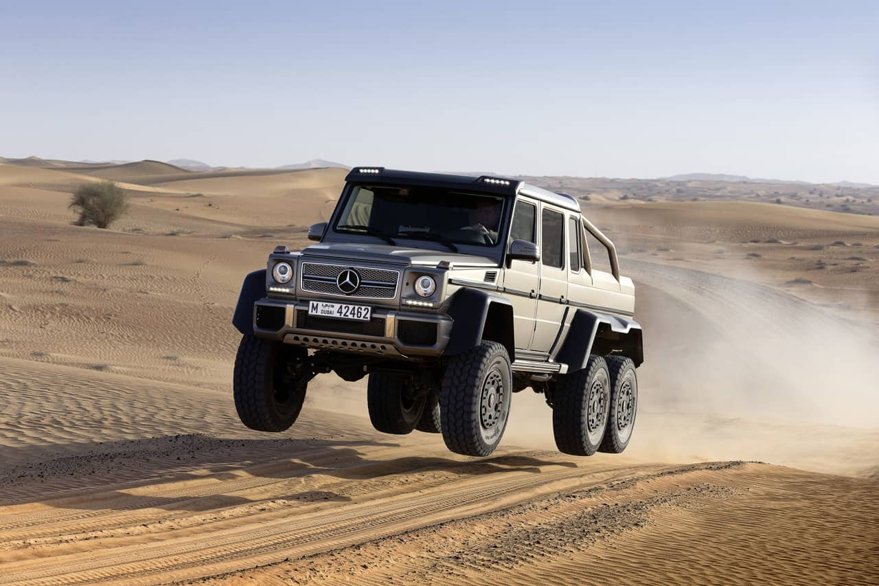 top ten pickup trucks - Mercedes-Benz G63 AMG 6X6