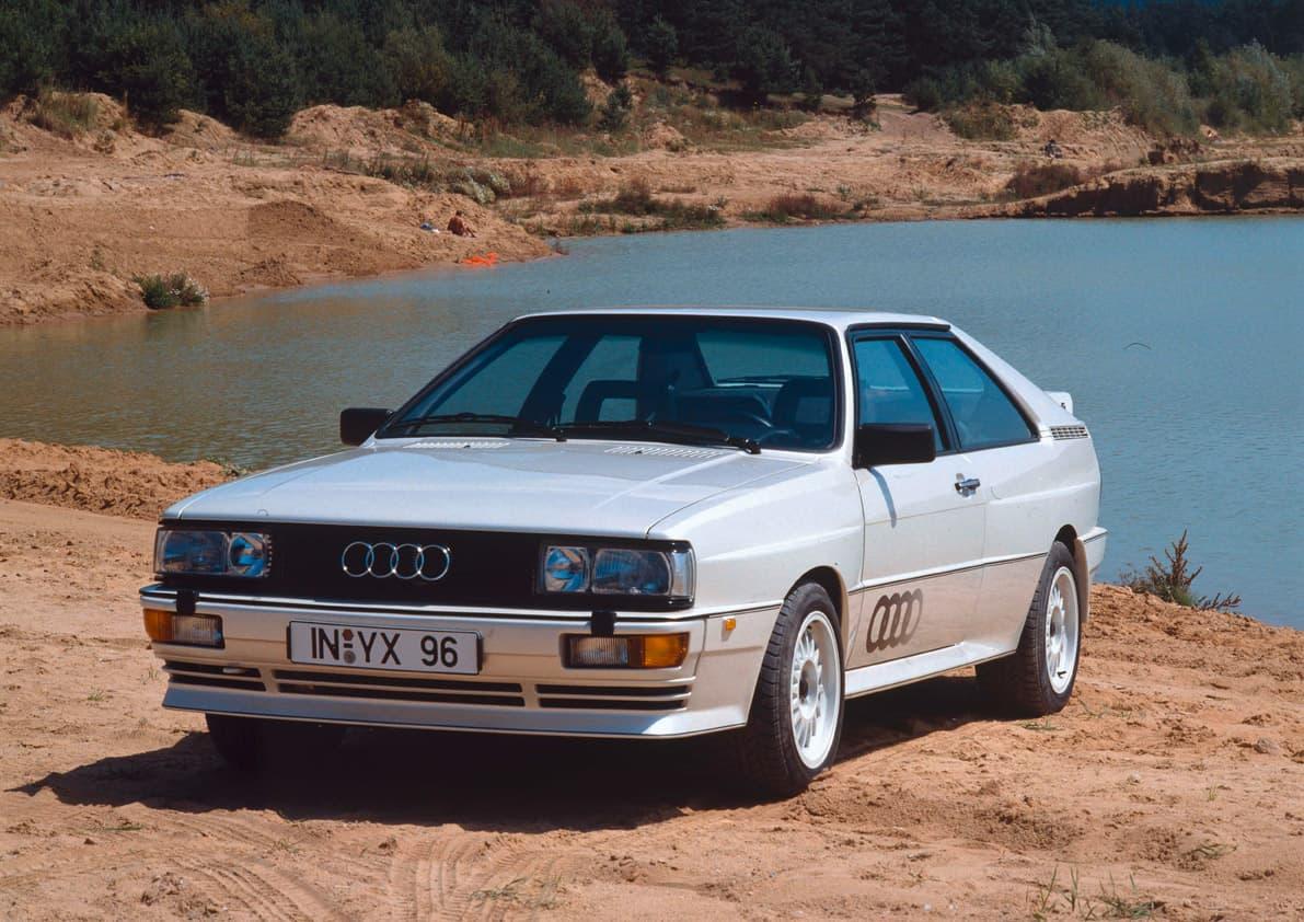 5-Cylinder Cars - Audi Quattro
