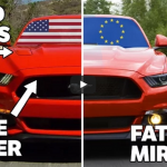 8 Reasons Why The American Ford Mustang Is Better Than The European Version