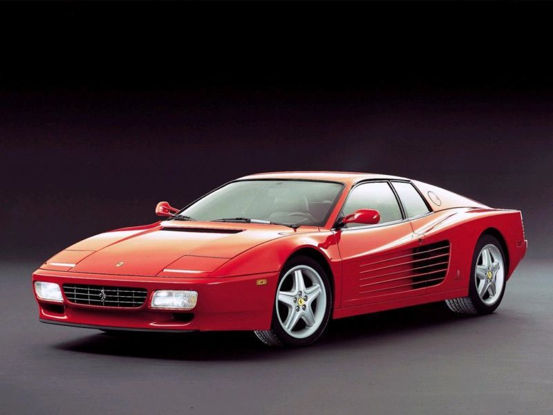 The Wedge Car - ferrari-testarossa