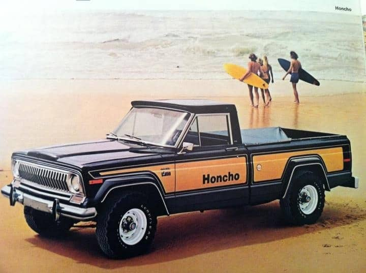 top ten pickup trucks - Jeep honcho