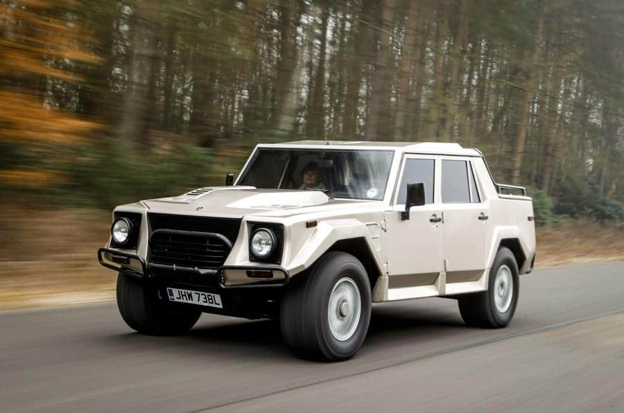 top ten pickup trucks - lamborghini lm002