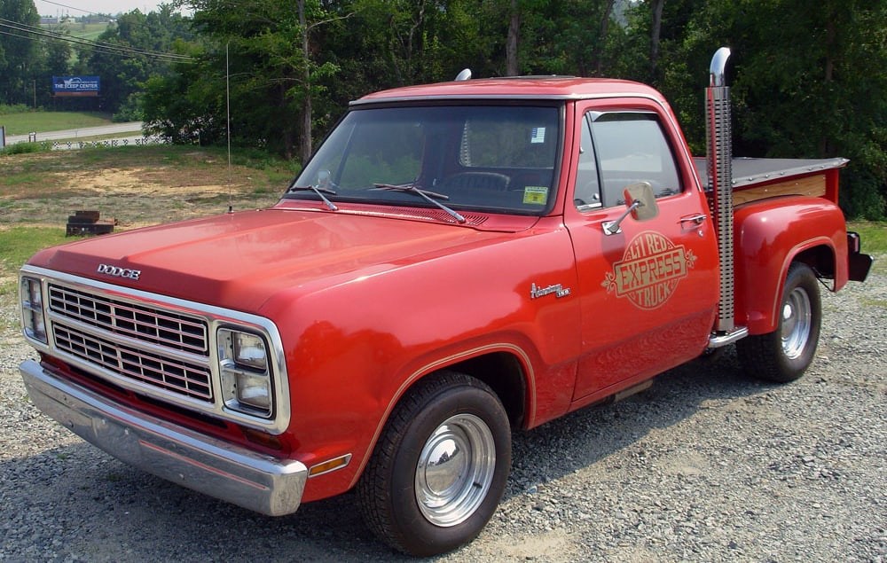 top ten pickup trucks - dodge lil-red