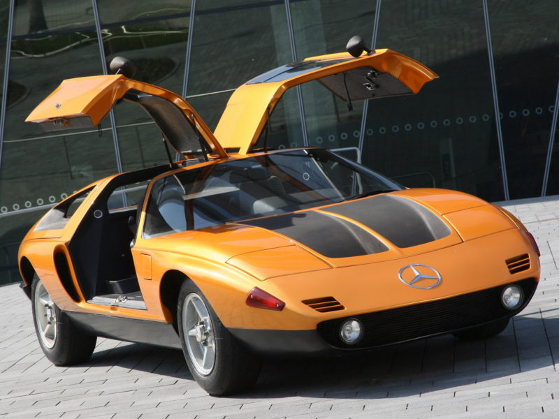 The Wedge Car - mercedes-benz_c111