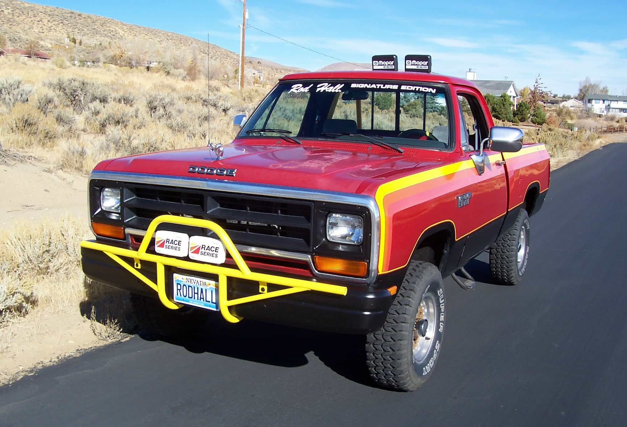 top ten pickup trucks - Dodge rod-hall