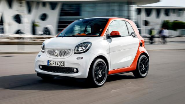 The Smart ForTwo Is The King Of The Joke Cars