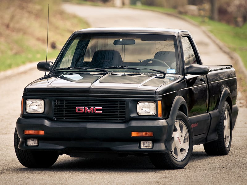 top ten pickup trucks - GMC syclone