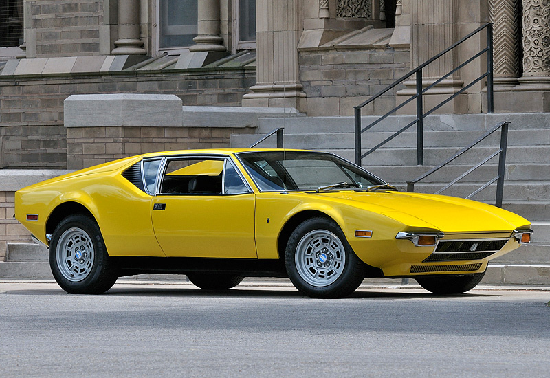 1971 De Tomaso Pantera; top car design rating and specifications