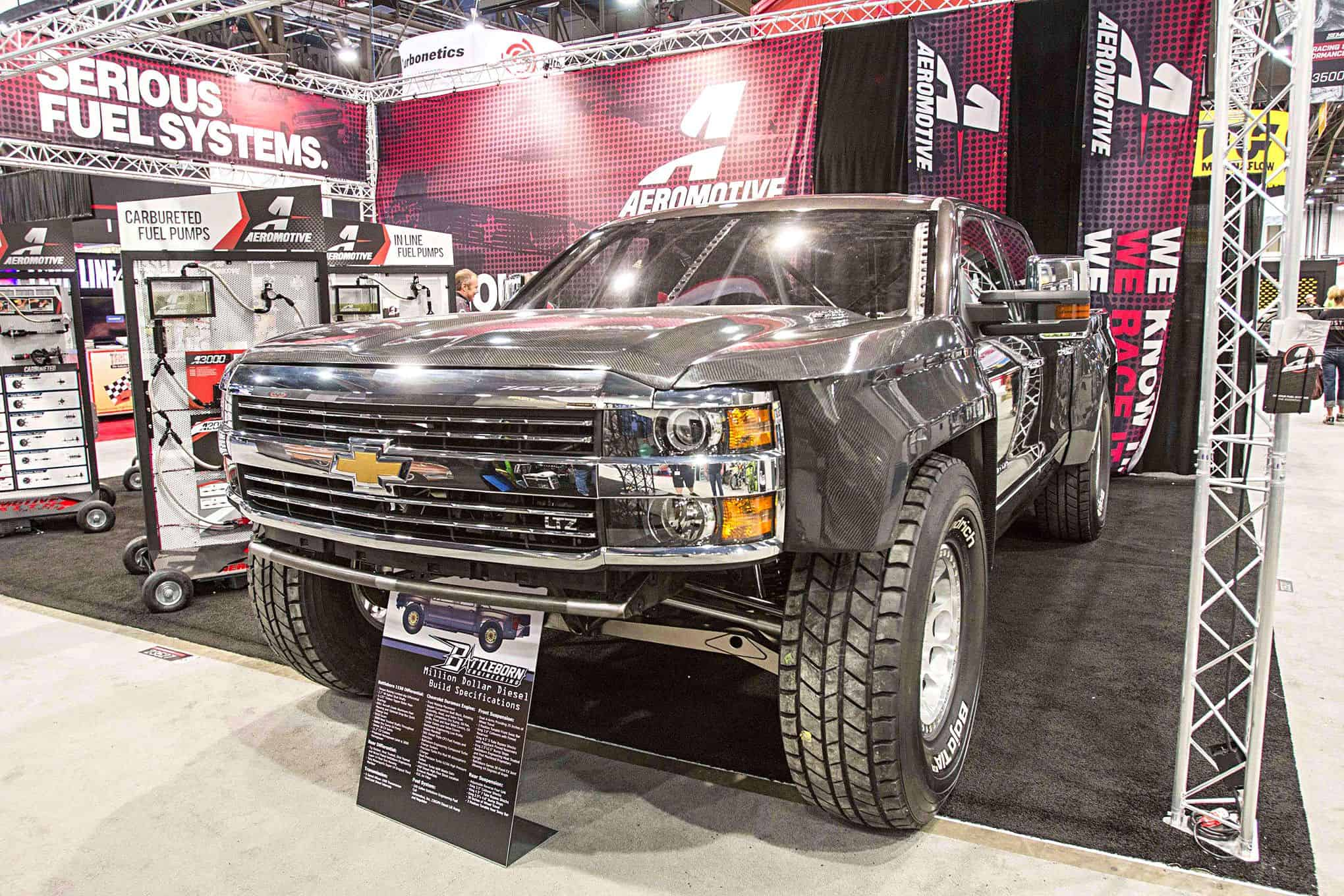 15 of the baddest modern custom trucks and pickup truck concepts from sema. Black Bedroom Furniture Sets. Home Design Ideas