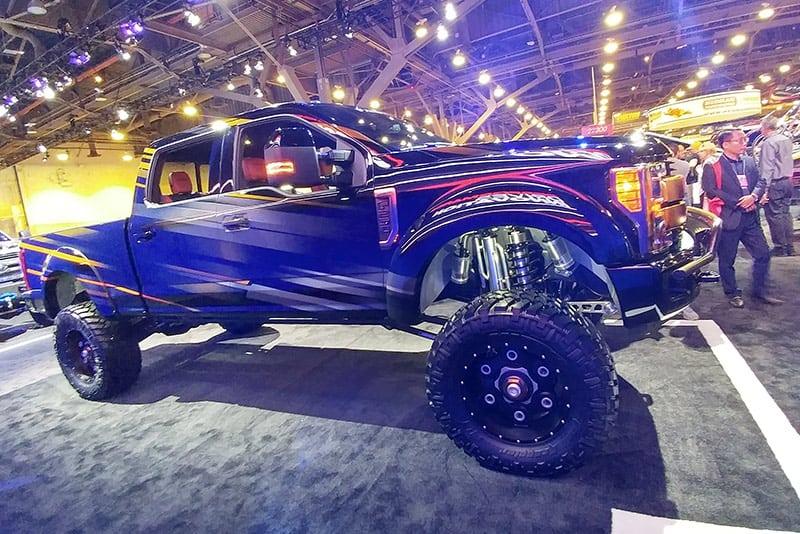 Custom Pickup Trucks & Concept Trucks - 2017-ford-super-duty-f-250-shockzilla