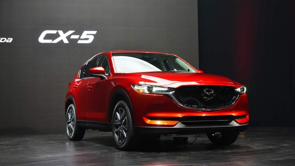 2017 Mazda CX-5 Is Here And Is A Looker
