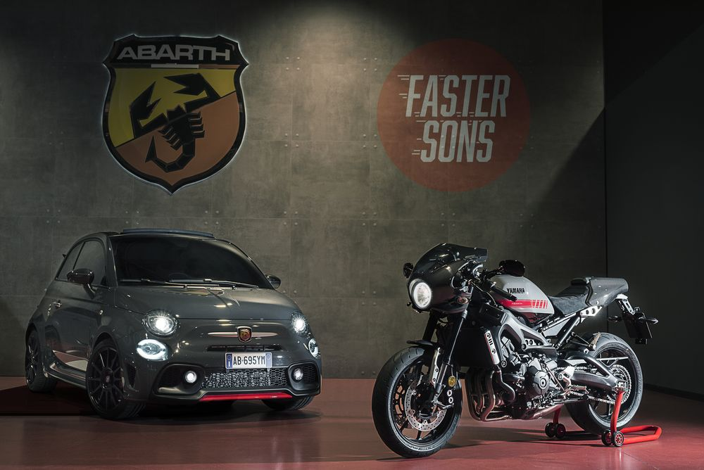Yamaha XSR900 Abarth 1