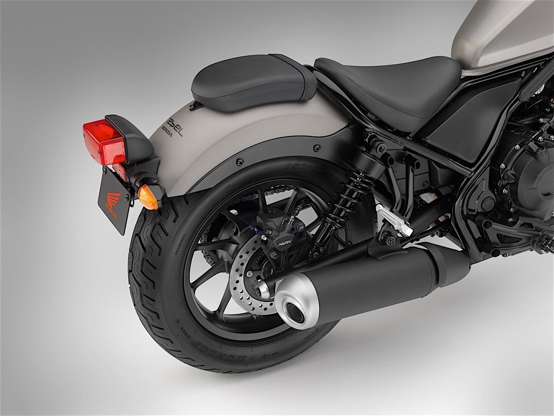 Honda Rebel 500 Bobber 9