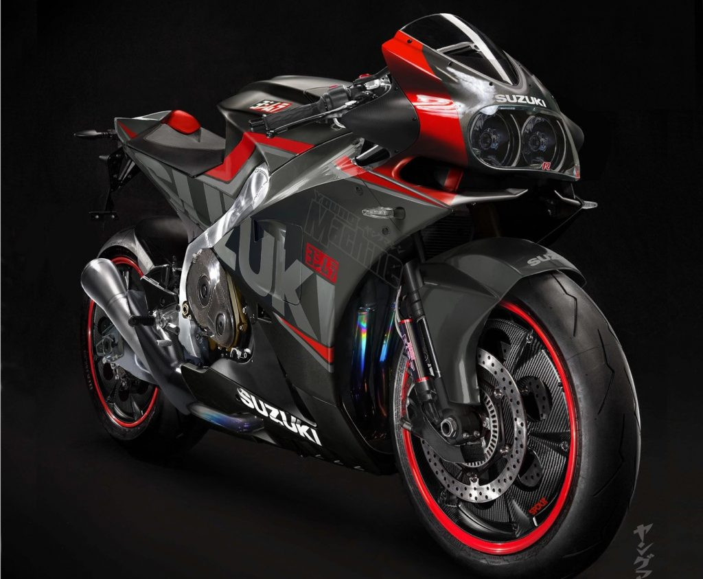 suzuki boss hints at retro bikes turbochargers and an all new hayabusa. Black Bedroom Furniture Sets. Home Design Ideas