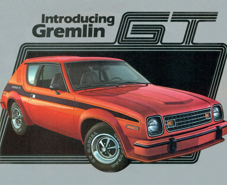 AMC car models - amc_gremlin_gt