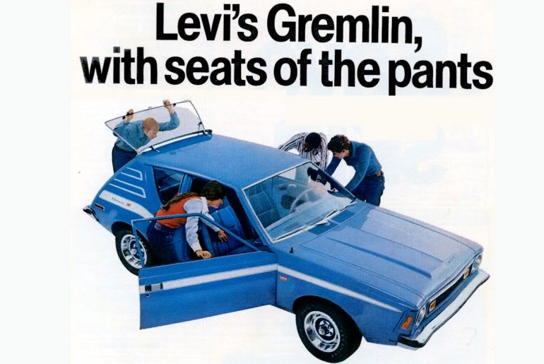 AMC car models - denim gremlin