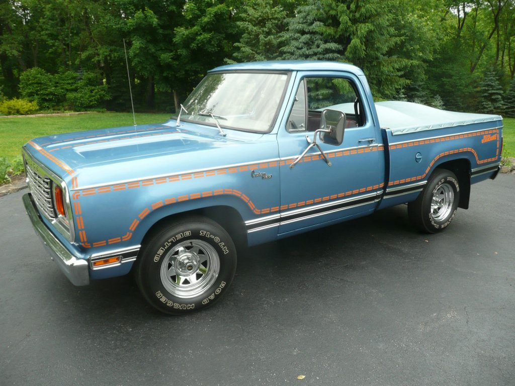 Rare Trucks - dodge-jean-machine