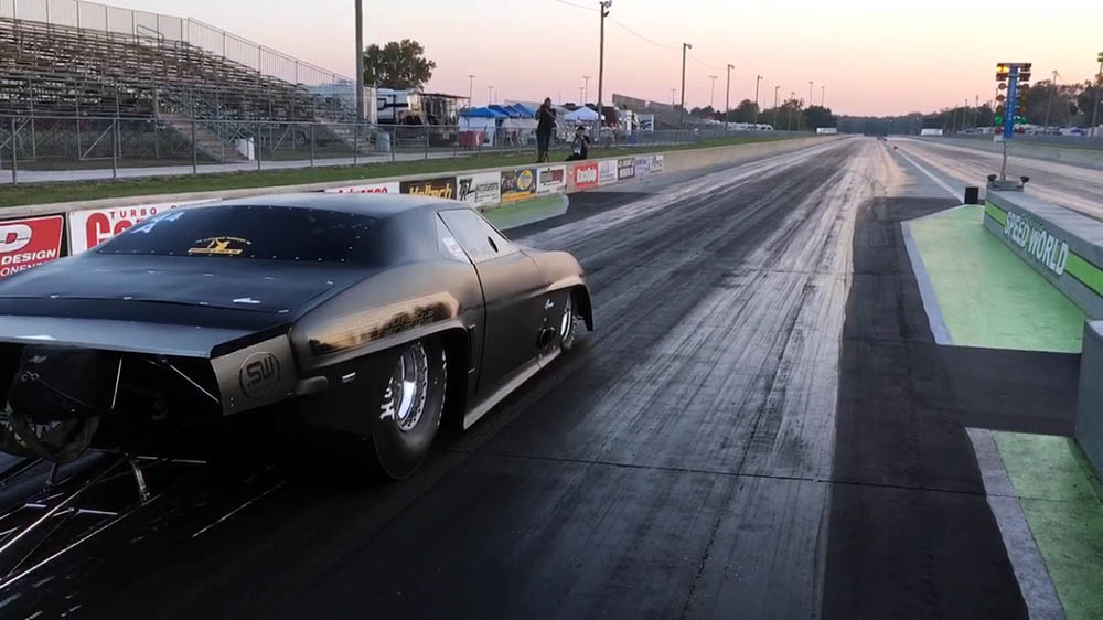 Jeff Lutz's Mad Max Street-Legal Camaro Sets the World Quarter Mile Record at 5.87 Seconds