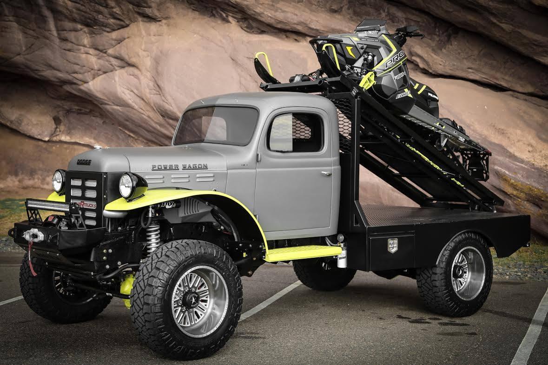 Restomod Truck SEMA - power-wagon