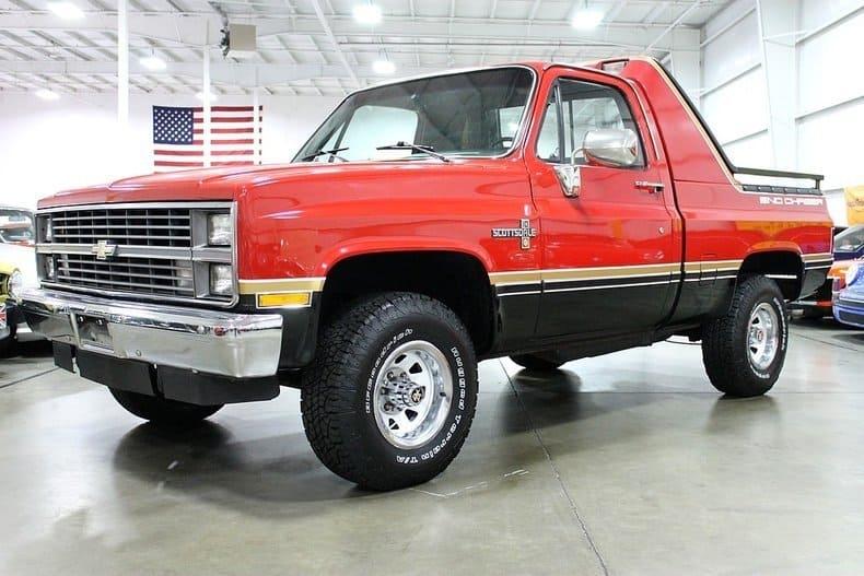 Rare Chevy Trucks - sno-chaser