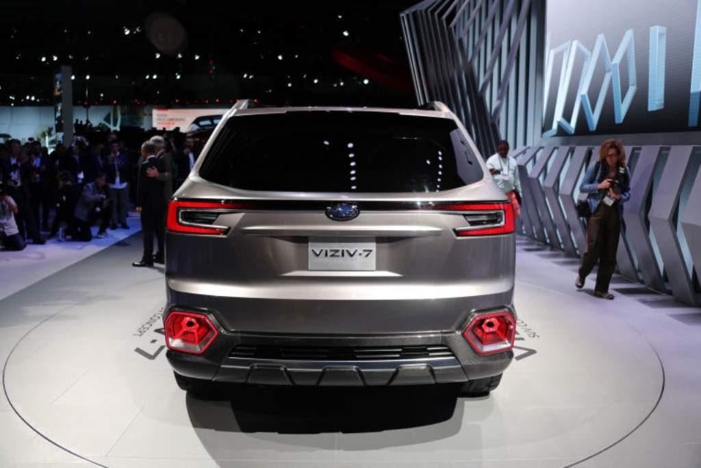 Subaru Viziv 7 Concept Rear