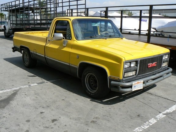 Rare Trucks - GMC sundancer