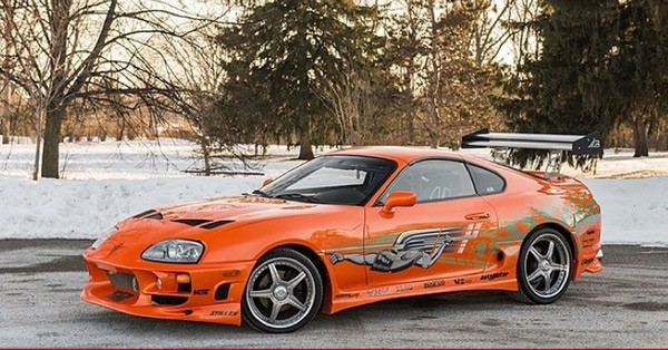 The Initial Toyota Supra Stunt Car