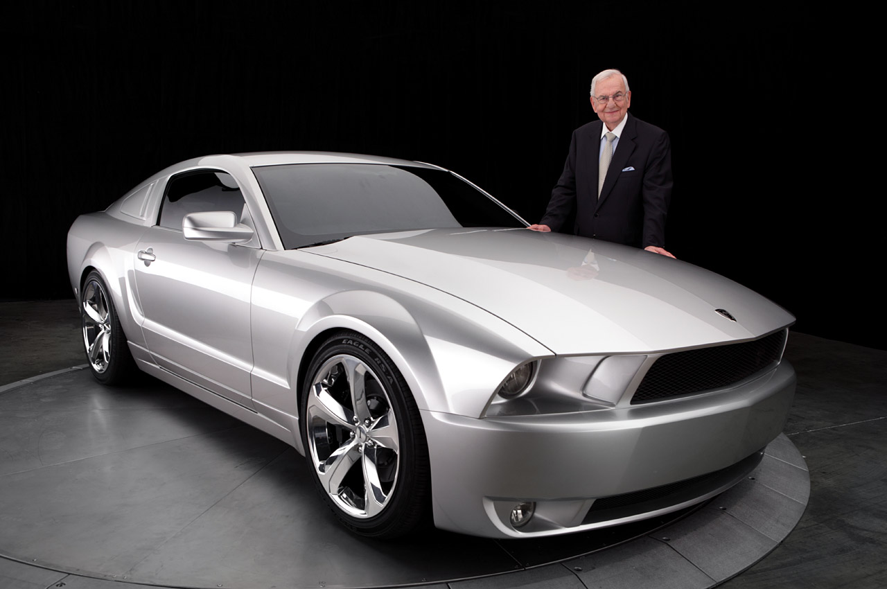 Ford Special Edition Trucks And Rare Ford Cars - 2009 iacocca silver 45th anniversary edition mustang1
