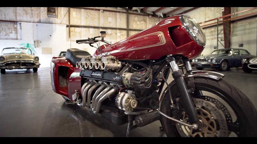 Lamborghini V12 Motorcycle 2