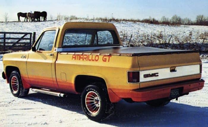 GMC Amarillo GT Rear View