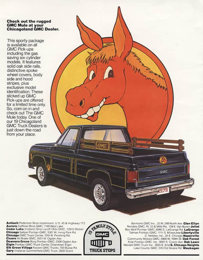GMC Mule Advert