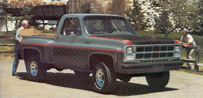 1978 chevy c10 truck colors