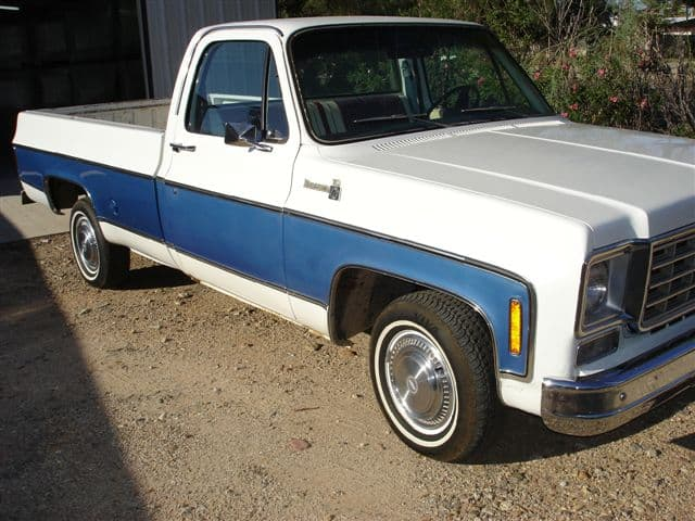 "Chevy ""Spirit of 76"" Edition Front Quarter and Side"