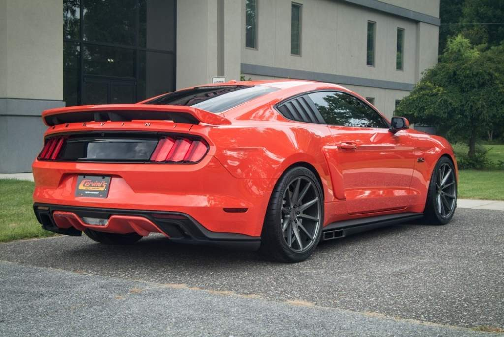 Mustang side exhaust by Cervini