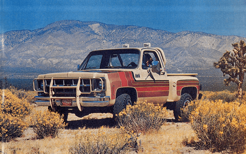 GMC Desert Fox Promotional Picture