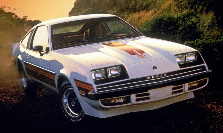 1980 Chevy Monza Spyder Z29 Spider Package Decals Stripes Kit