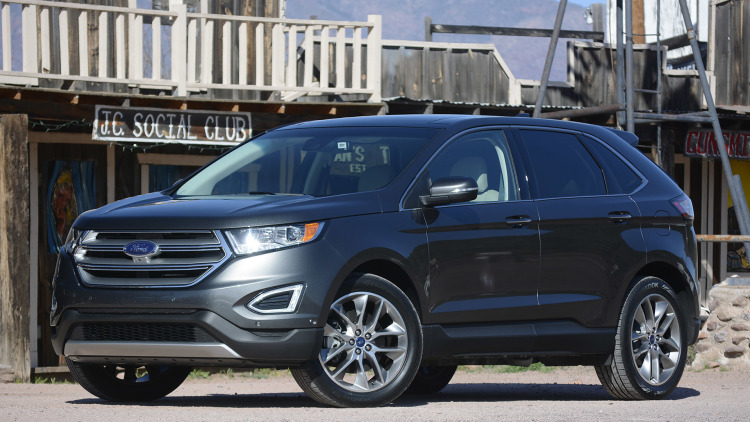 Ford All Electric Suv
